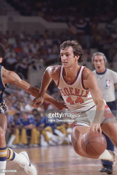 Basketball playoffs Phoenix Suns Paul Westphal in action vs Golden State Warriors Phoenix AZ 5/14/1976
