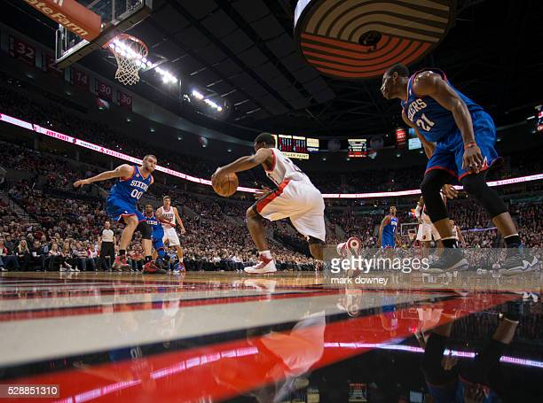 NBA Basketball Portland Trail Blazers Ronnie Price on the move