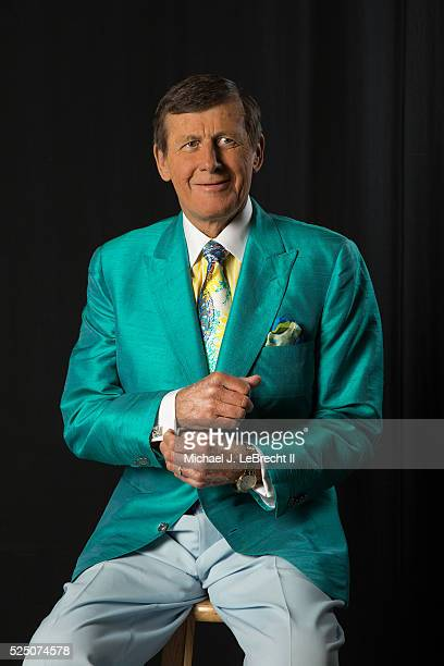 Portrait of TNT sideline reporter Craig Sager posing during photo shoot at Quicken Loans Arena Sager who recently slipped out of remission from acute...