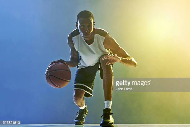 basketball skills - basketball player stock pictures, royalty-free photos & images