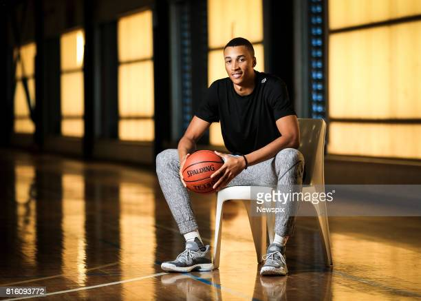 SYDNEY NSW Basketball star Dante Exum of Utah Jazz poses during a photo shoot ay Crows Nest in Sydney New South Wales