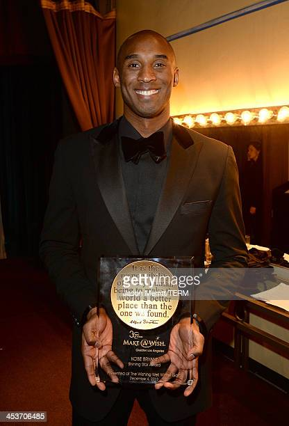 Basketball Star Kobe Bryant attends the Make-A-Wish Greater Los Angeles 30th Anniversary Gala on December 4, 2013 in Los Angeles, California.