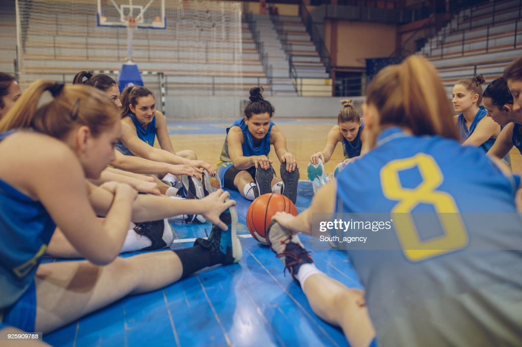 Basketball Team : Stock Photo