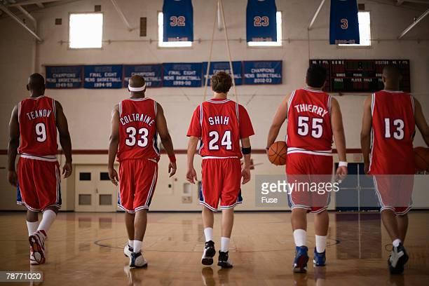 Basketball Teammates