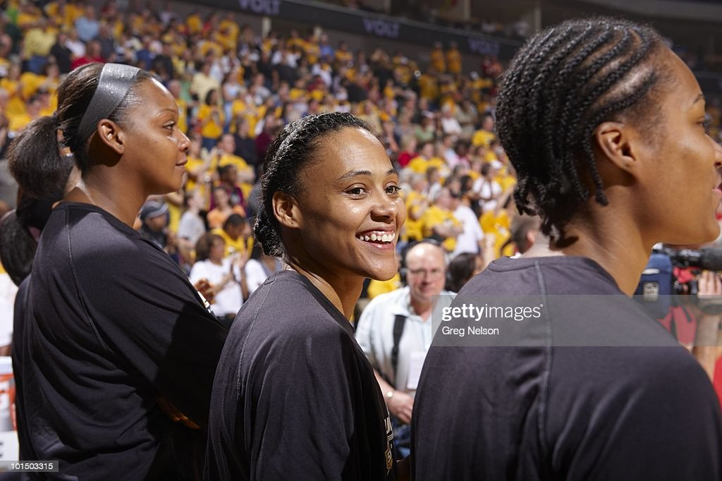Tulsa Shock Marion Jones (20) before game vs Minnesota Lynx. Tulsa, OK 5/15/2010