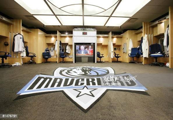 Dallas Mavericks Locker Room Tour