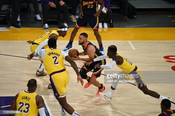 West PlayIn: Golden State Warriors Stephen Curry in action vs Los Angeles Lakers at Staples Center. Game 1. Los Angeles, CA 5/19/2021CREDIT: John W....