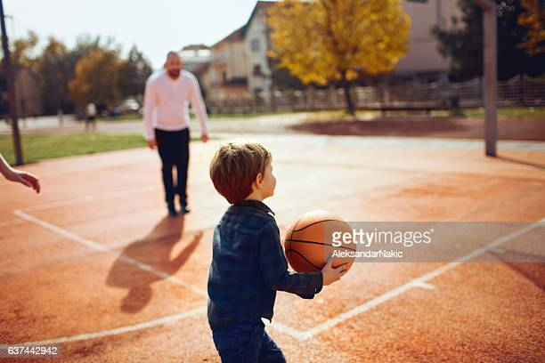Basketball with my dad