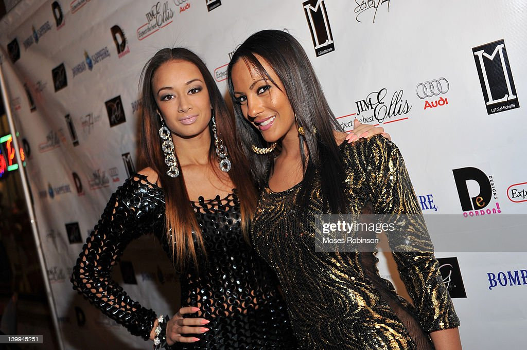 Basketball Wives L A Cast Member Draya Michele And Guest Attend