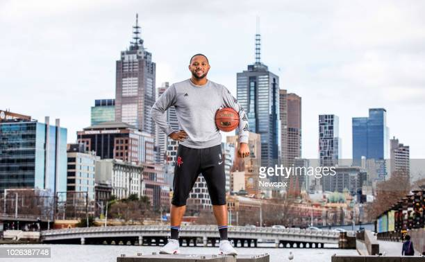 MELBOURNE VIC Basketballer Eric Gordon of the Houston Rockets poses during a photo shoot in Melbourne Victoria