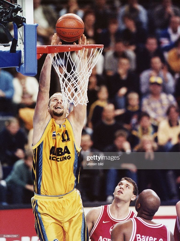 Hammink, Geert / Basketballspieler : News Photo