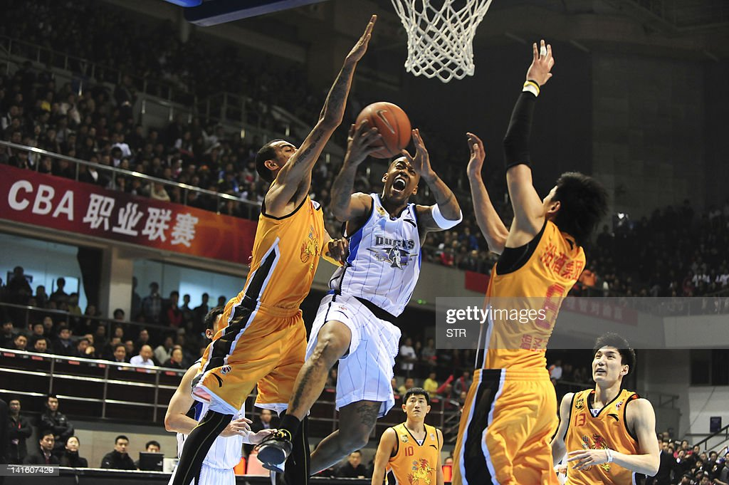 TO GO WITH Basket-CHN-CBA,PREVIEW by Rob : News Photo