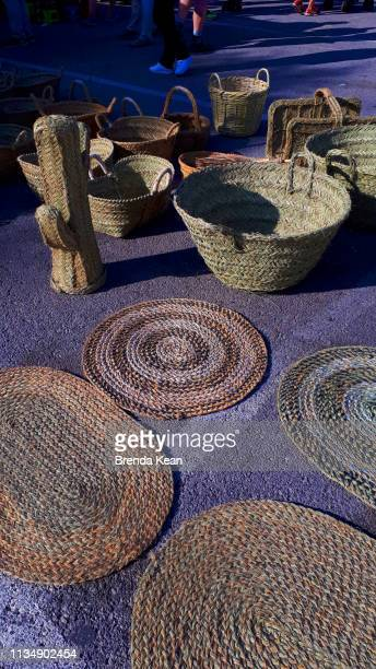 craftsman hand made baskets are traditional