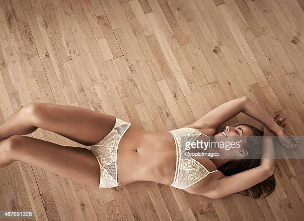 basking in her fabulousness - pants stock photos and pictures