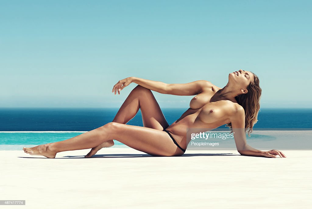 Basking in the sunshine : Stock Photo