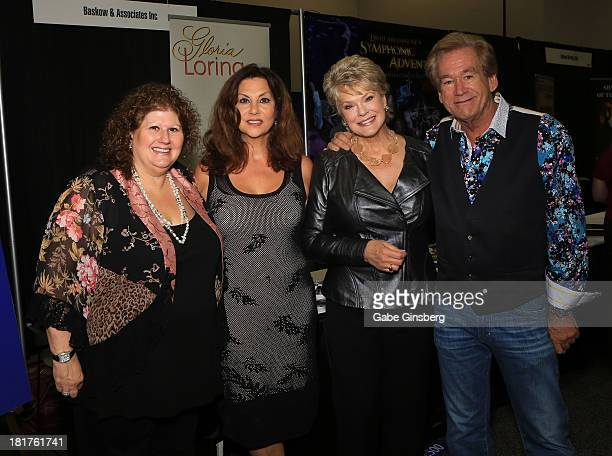 Baskow and Associates chief executive officer Jaki Baskow singer Tamara Champlin singer and actress Gloria Loring and musician Bill Champlin attend...