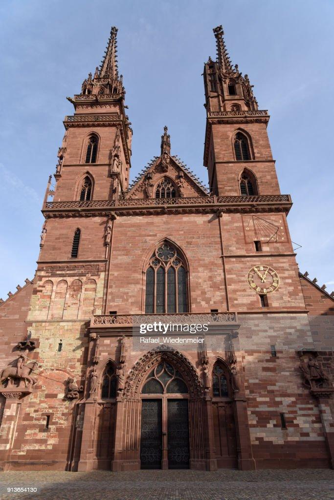 Basler Münster : Stock Photo
