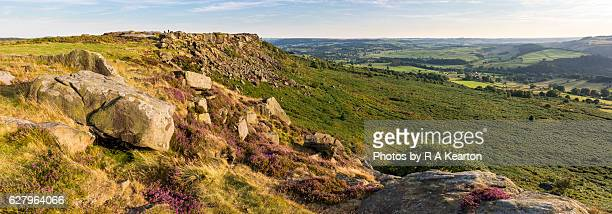 Baslow edge in the Peak District national park, England