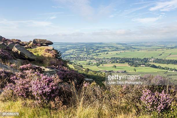 Baslow Edge in the Peak District national park.