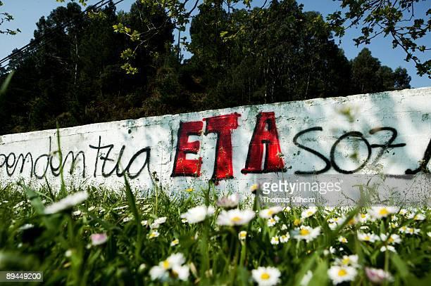 Basque County ETA graffiti