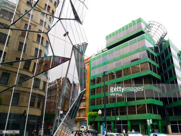Basque Public Health Central Office building Bilbao Biscay Basque Country Spain