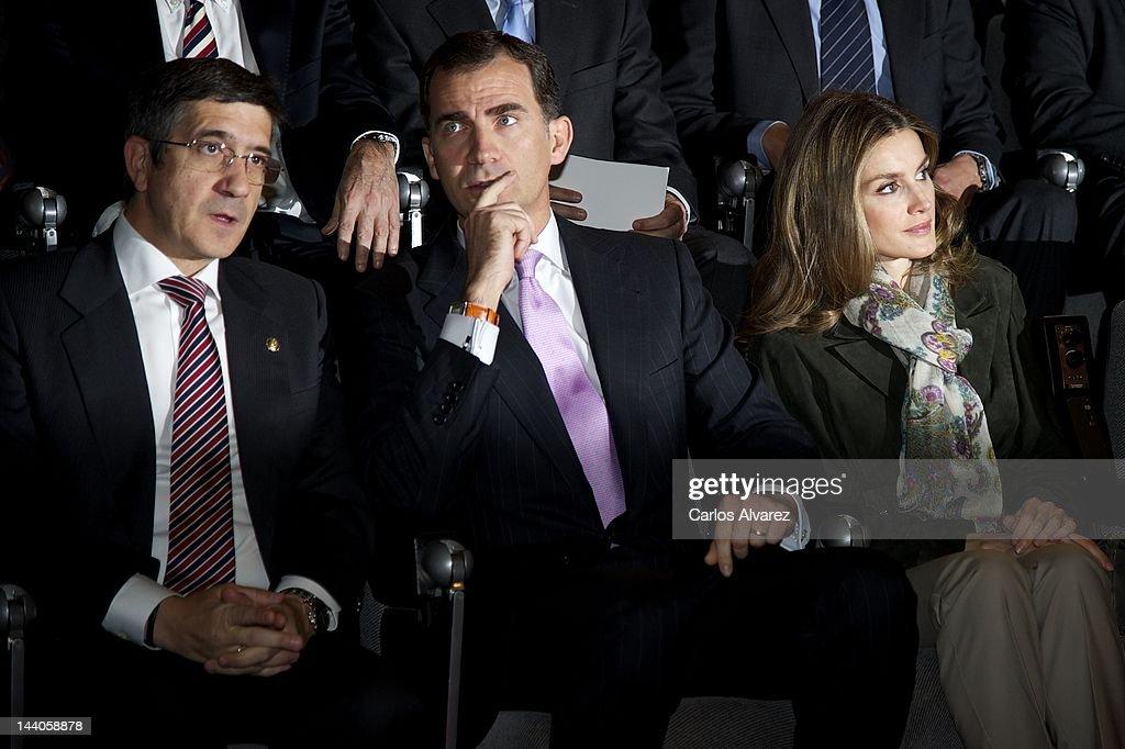 Spanish Royals Attend World Red Cross Day Celebration