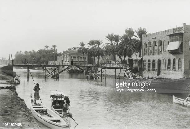 Basra creek, Iraq, 10/01/1891.