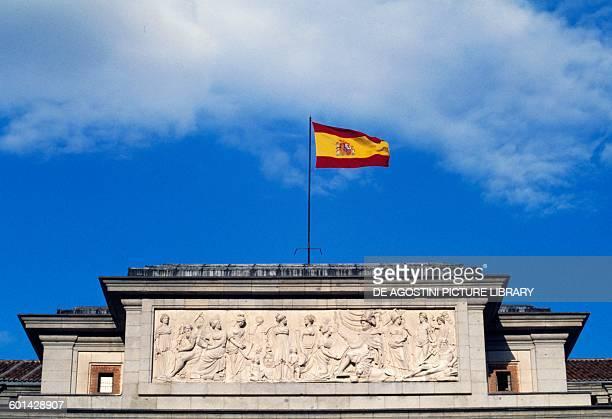 Bas-relief, Velazquez Gate, Museo del Prado, Madrid, Spain.