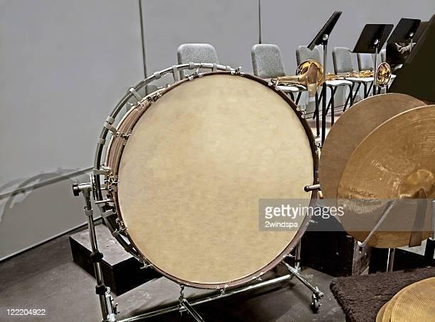 Bass Tambour et des Cymbales