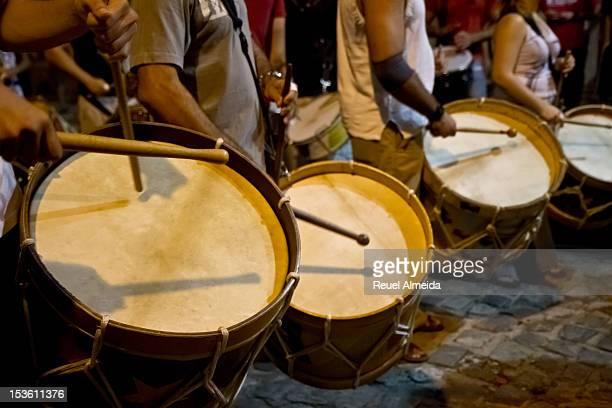 Bass drum of Maracatu