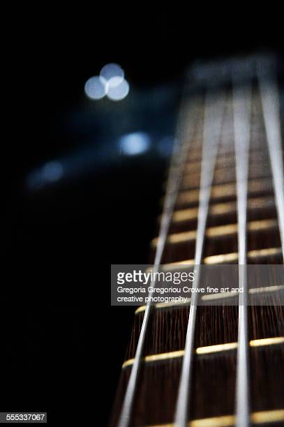bass guitar - gregoria gregoriou crowe fine art and creative photography stock-fotos und bilder