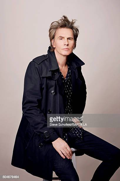 Bass guitarist and cofounder of new wave band Duran Duran John Taylor poses for a portrait at the BAFTA Los Angeles Awards Season Tea at the Four...