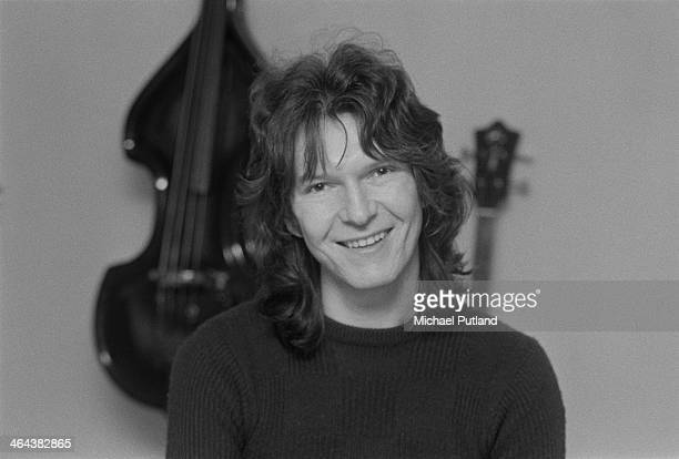 Bass guitarist Chris Squire of English progressive rock group Yes 10th January 1974
