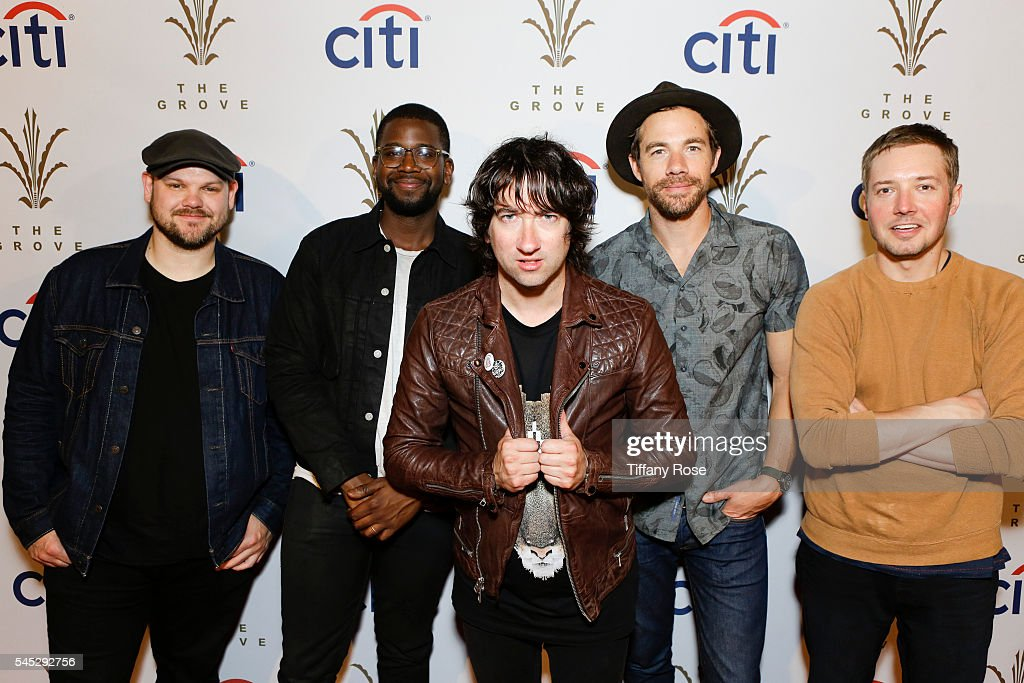 Citi Presents Plain White T's At The Grove's 2016 Summer Concert Series
