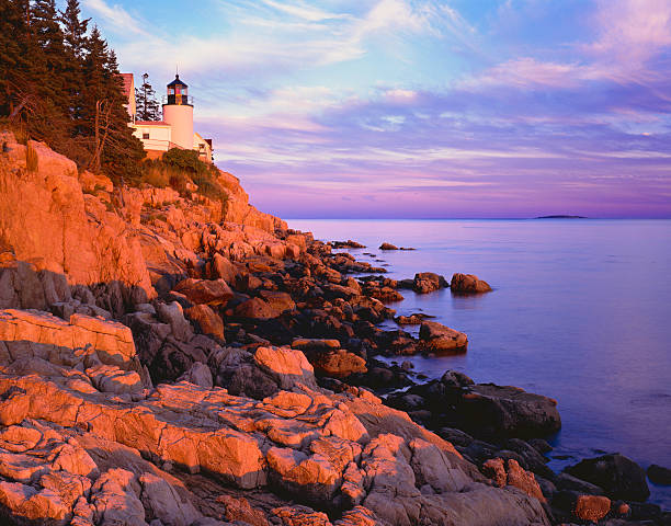 Bass Harbor Lighthouse Maine (P)