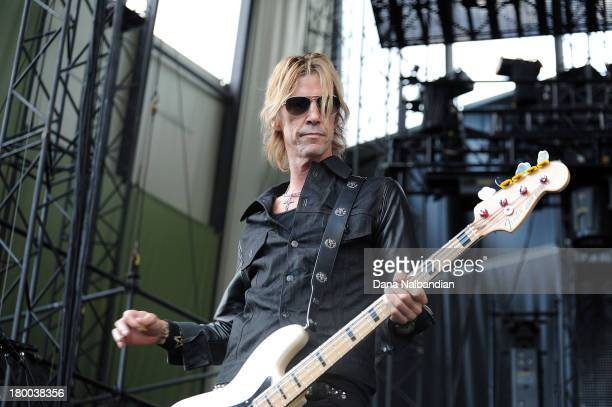 Bass player Duff McKagan of Walking Papers performs at Uproar Festival at the Gorge Amphitheater on September 7 2013 in George Washington