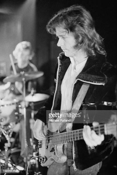 Bass player John Wetton of progressive rock band King Crimson circa 1972