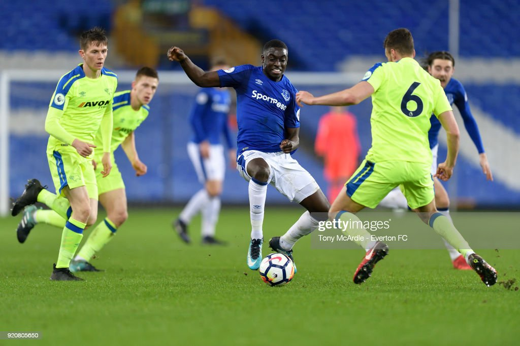 Everton v Derby County: Premier League 2
