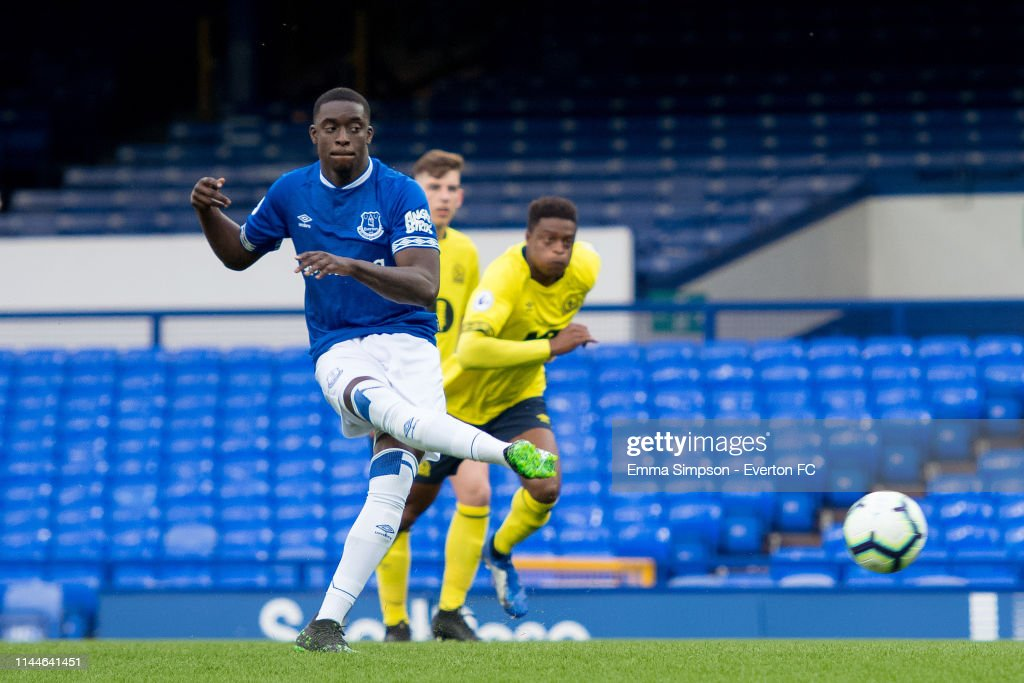 GBR: Everton v Blackburn Rovers: Premier League Cup