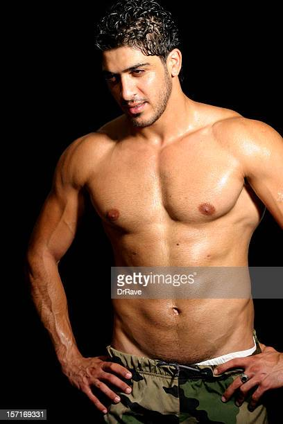 bassam - portrait 11 - naturist male stock pictures, royalty-free photos & images