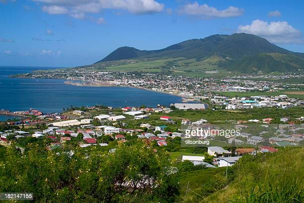 basseterre st. kitt's nevis - st. kitts stock photos and pictures
