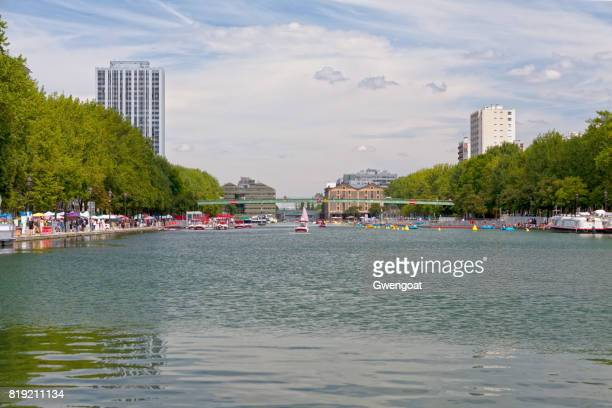 Bassin de la Villette in Paris