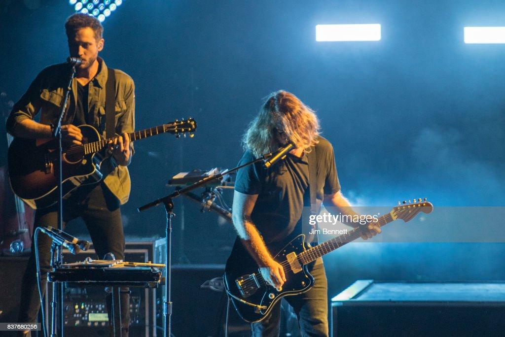 OneRepublic Performs At White River Amphitheatre : News Photo