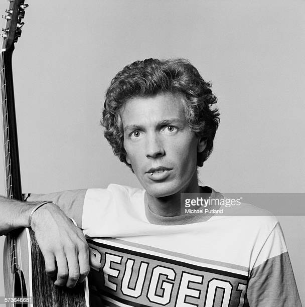 Bassist and singersongwriter Scott Walker of American pop group The Walker Brothers London 20th July 1976