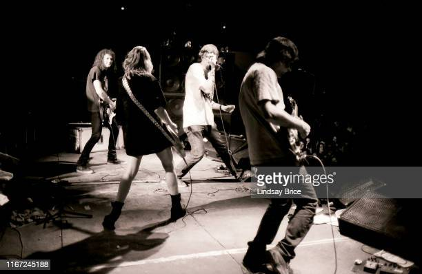 Bassist and vocalist Kim Gordon guitarist Lee Renaldo guitarist and vocalist Thurston Moore and drummer Steve Shelley are joined by Mudhoney bassist...