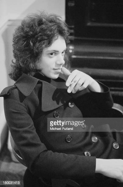 Bassist Andy Fraser of English rock group Free Newcastle January 1972