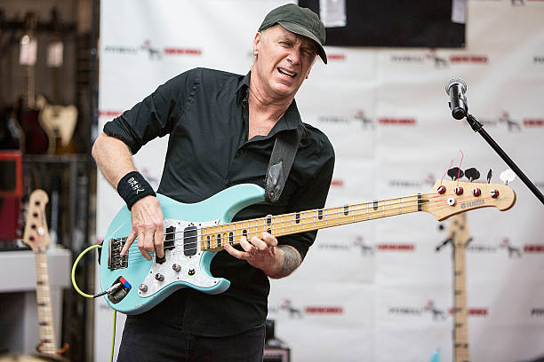 billy sheehan performs bass clinic and q a photos and images getty images. Black Bedroom Furniture Sets. Home Design Ideas