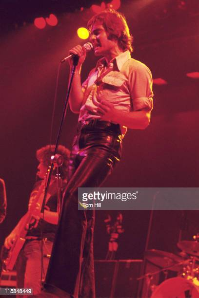 Pete Sears and Marty Balin of Jefferson Starship during Jefferson Starship Performs at the Omni September 14 1976 at Omni Coliseum in Atlanta Georgia...