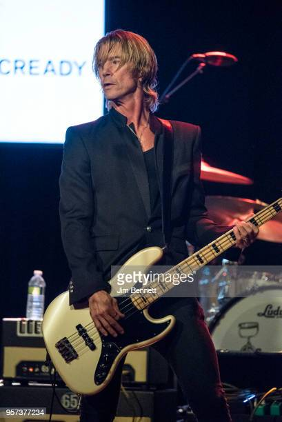 Bassist Duff McKagan performs live on stage during the MusiCares Concert for Recovery benefit at The Showbox on May 10 2018 in Seattle Washington