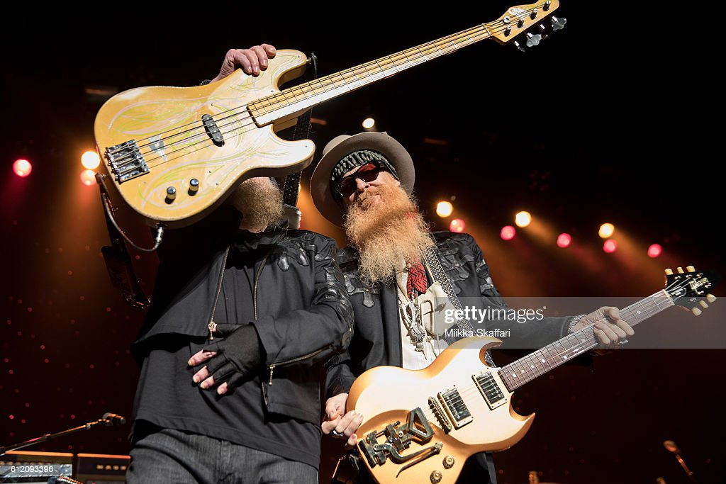 ZZ Top Performs At The Warfield